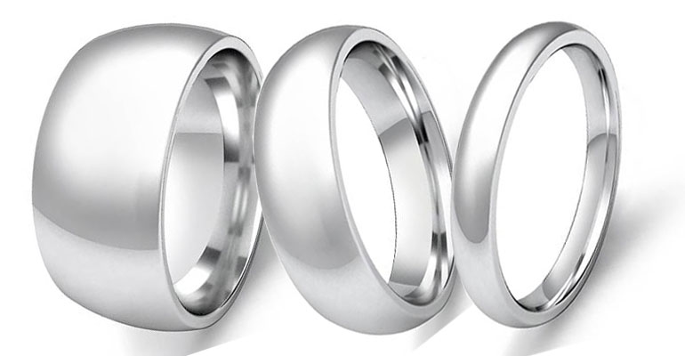 Plain Wedding Bands...